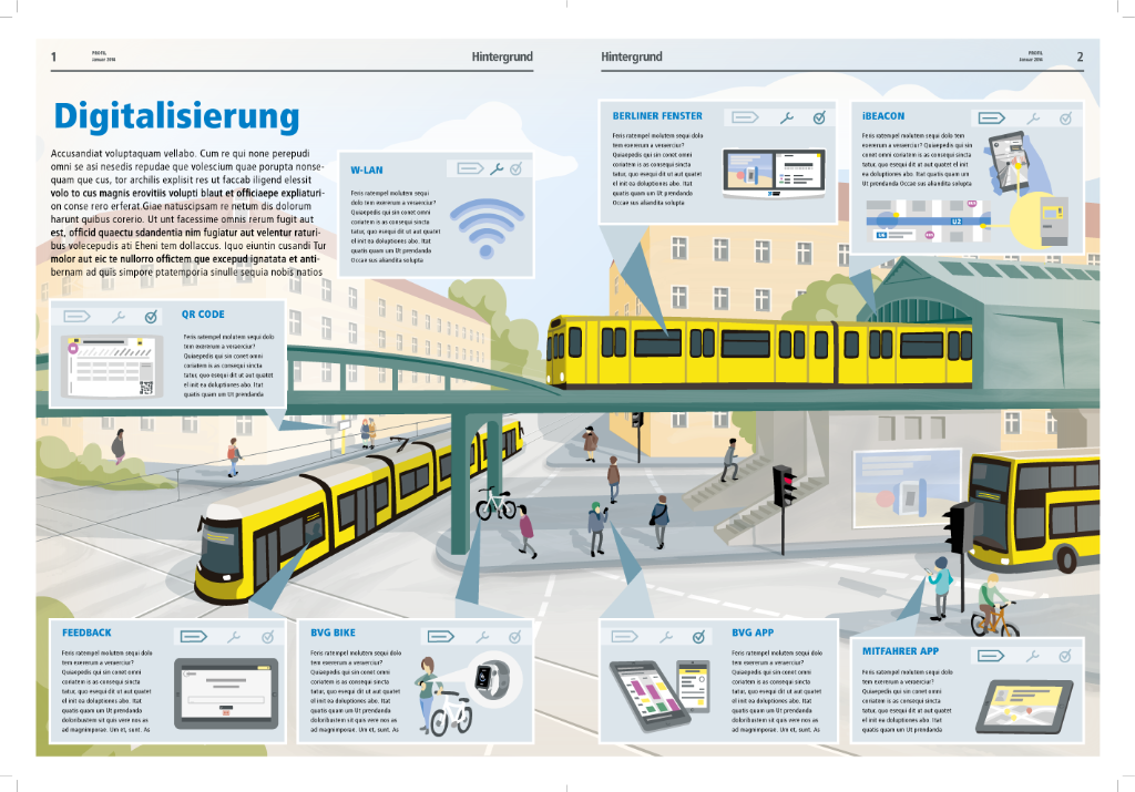 illustrative infographic BVG internship